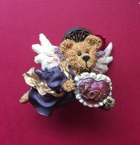 Boyds Bear Love Angel Juliette Christmas Ornament With Box