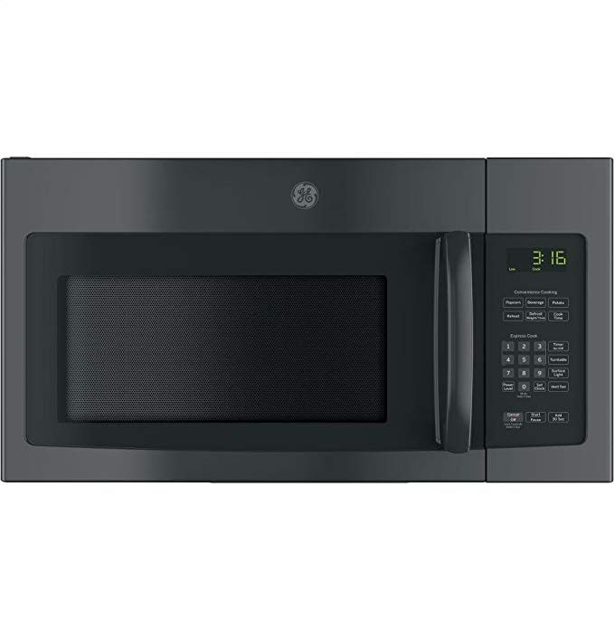 Amazon Com Ge Jnm3163djbb Over The Range Microwave 1 6 Appliances Over The Range Microwaves Range Microwave Black Microwave