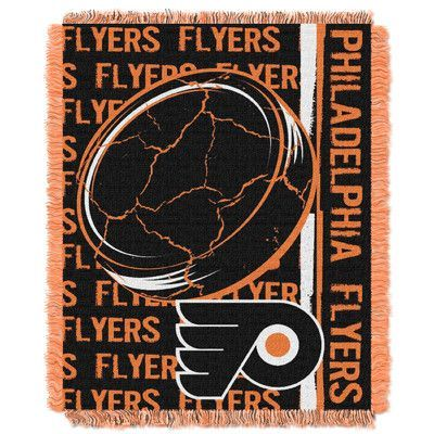 Northwest Co. NHL Flyers Double Play Woven Throw