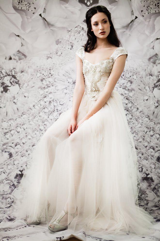 Beaded gown / ida sjostedt: Wedding Inspiration, Wedding Dressses, Wedding Dresses, Wedding Ideas, Wedding Gown, Sjöstedt Couture, Dream Wedding, Ida Sjostedt, Ida Sjöstedt