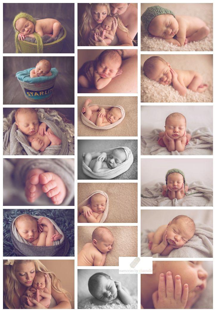 Lots of poses - Washington Newborn Photographer