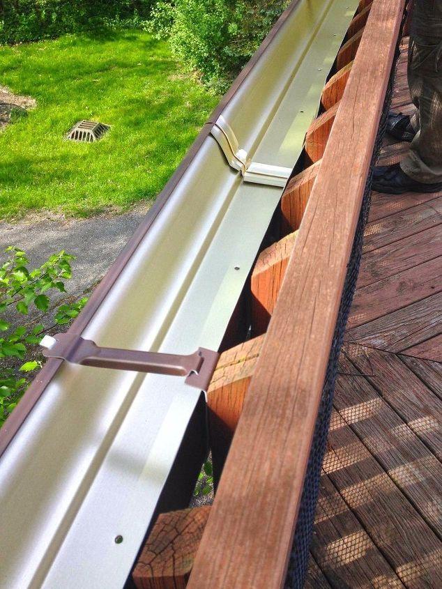 easy gutter garden for a deck 37