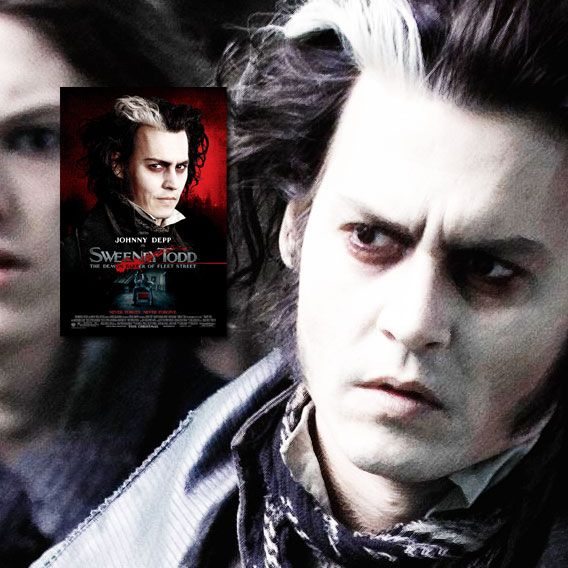"""""""I can guarantee the closest shave you'll ever know."""" Sweeney Todd: The Demon Barber of Fleet Street (2007) The infamous story of Benjamin Barker, AKA Sweeney Todd, who sets up a barber shop down in London which is the basis for a sinister partnership with his fellow tenant, Mrs. Lovett. Based on the hit Broadway musical. Director: Tim Burton. Stars: Johnny Depp, Helena Bonham Carter, Alan Rickman, Timothy Spall, Sacha Baron Cohen, Jamie Campbell Bower, Laura Michelle Kelly."""