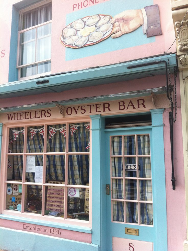 Famous Oyster Restaurant in Whitstable