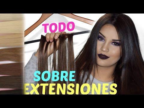 EXTENSIONES de Cabello COMO CUIDARLAS Y COLOCARLAS Irresistible me Hair Extensions - YouTube