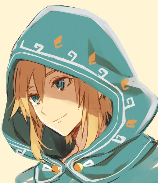 Hylian Hood Link | Breath of the Wild Even though I also am a guy I have to admit that this motherfucker is handsome as fuck xD