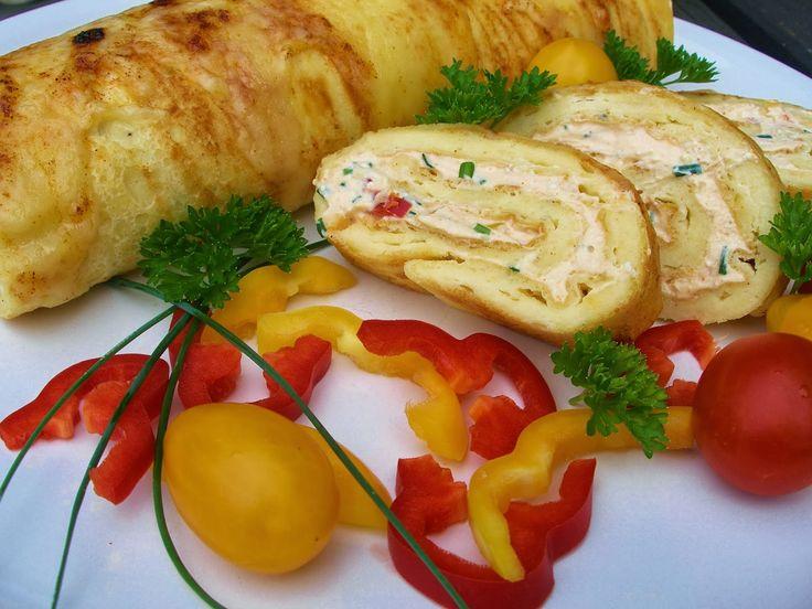 V kuchyni vždy otevřeno ...: Pečená sýrová roláda