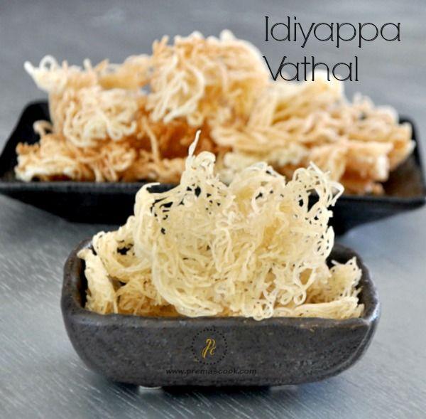 Idiyappa koozh Vathal Recipe