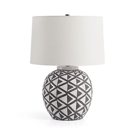 Domino table lamp