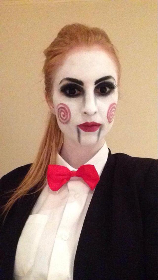1000+ Ideas About Jigsaw Makeup On Pinterest | Jigsaw Costume Jigsaw Costume Women And Jigsaw Doll
