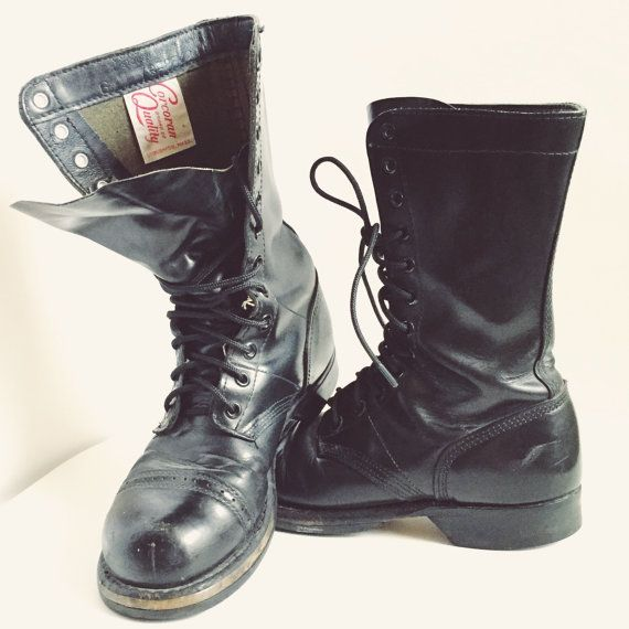 Corcoran Quality World War 2 Authentic Black by junkindatrunkgirls