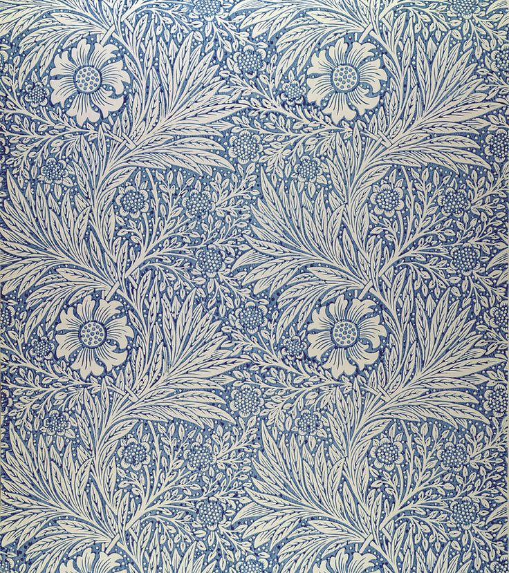 William Morris Wallpaper | Content in a Cottage