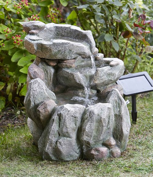 Best Solar Outdoor Water Fountain Images On Pinterest Outdoor