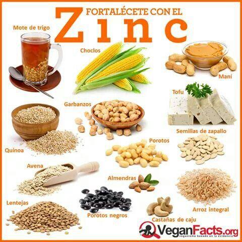 Factor Quema Grasa - Fuentes vegetales de Zinc - Una estrategia de pérdida de peso algo inusual que te va a ayudar a obtener un vientre plano en menos de 7 días mientras sigues disfrutando de tu comida favorita