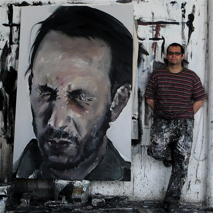 Santiago Ydanez. 2009. acrílico sobre tela. 180x120 cm.