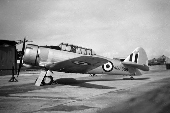 RAAF CAC CA-8 Wirraway.