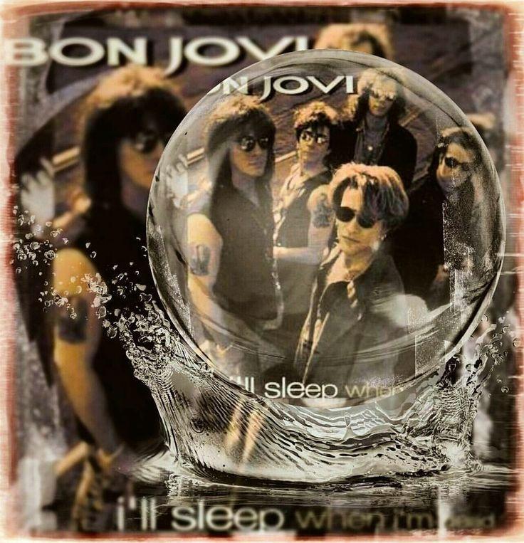 "greenlinedesign: """"I'll Sleep When I'm Dead(from the keep the faith album)….bonjovi 1992…#bonjovi #keepthefaith #album #I'llSleepWhenI'mDead #song #hardrock #heavymetal #glammetal #poprock #arenarock..."