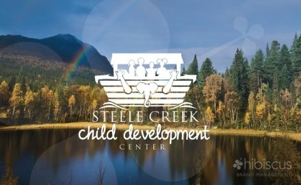 Steele Creek Child Center wanted a logo that represented diversity and had the Arc in it. After showing them various illustrations, the one that worked best in one color was selected. Child Development logo - 3 custom ideas -  www.hibiscusclt.com