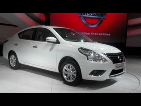 Nissan Sunny Facelift Unveiled | 12th Auto Expo 2014
