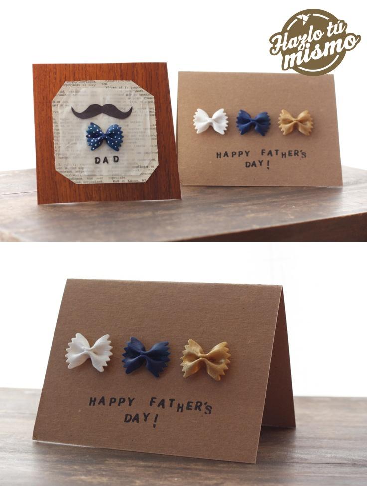 Creativas y lindas tarjetas para el Día del Padre.