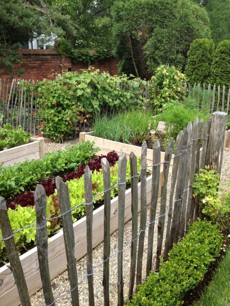 20 Amazing Vegetable Garden Fence Ideas