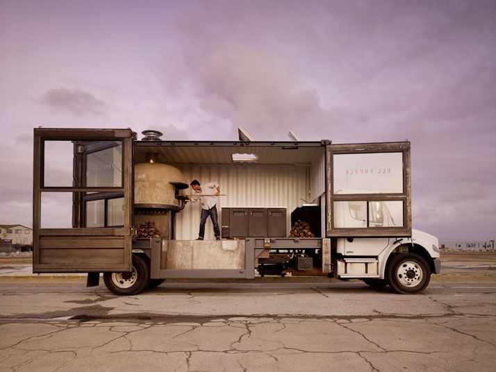 Del Popolo: The Mobile Pizzeria | Yatzer: Del Popolo, Ships Container, Foodtruck, Sanfrancisco, Pizza Trucks, Food Trucks, San Francisco, Pizza Ovens, Delpopolo