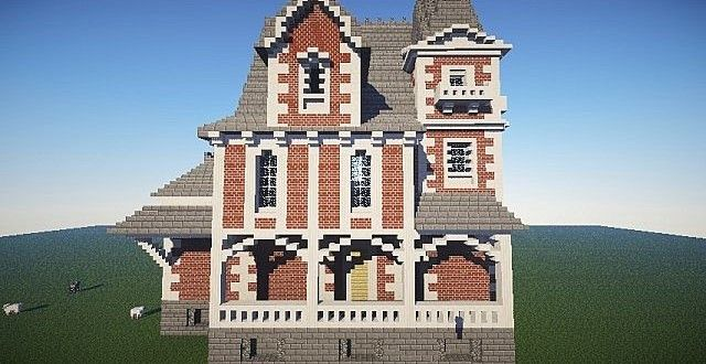 The Old Ladies House | Brick | Minecraft House Design