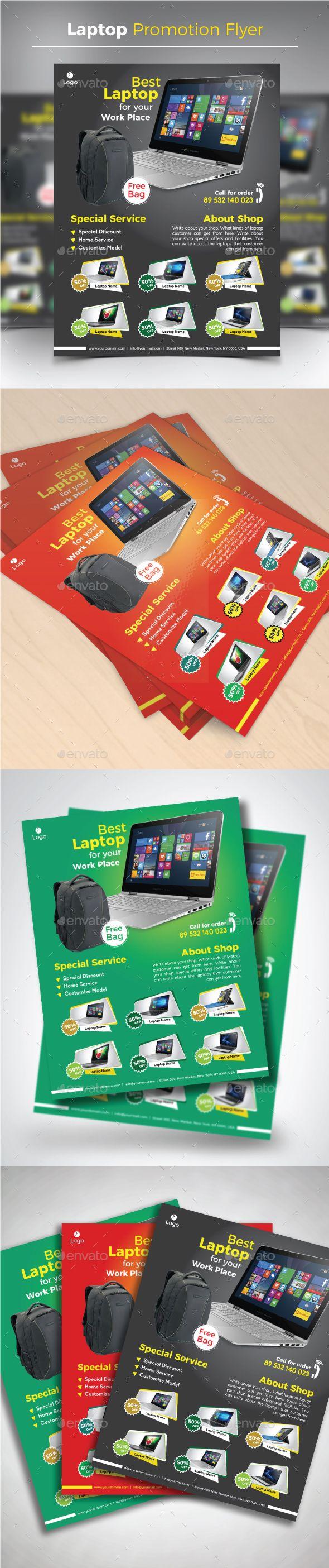 Laptop Promotion #Flyer - Commerce Flyers