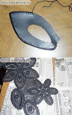Комбинирование ткани и вязания.