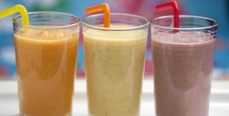 3 Batidos De Proteínas Caseros Protein Shake Recipes High Protein Recipes Shake Recipes