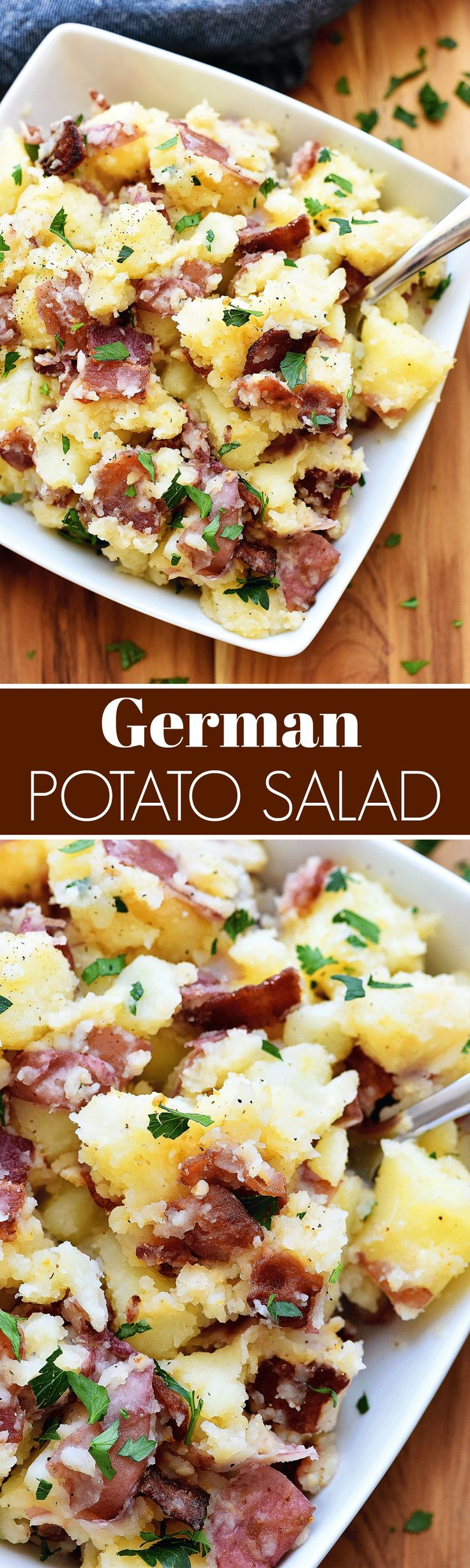 Truth be told- I am NOT a potato salad fan. Potatoes covered in gloopy mayo has never been my thing. My hubby loves it though, weirdo. Bless his heart. haha. JK. For some reason when I was planning our 4th of July menu I thought a potato salad would go good with what I had... Read More »