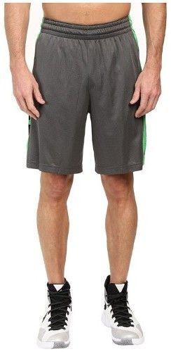 Nike Men's Elite Stripe Short Charcoal Heather/Metallic Silver Shorts XL X 12