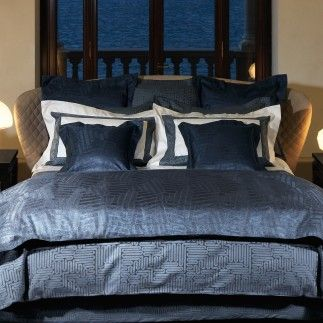 This Blue Comforter Looks Like The One I Am Making. Tram And Brera By Frette Good Ideas
