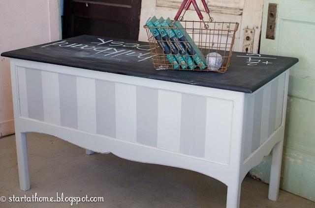 Start at Home: Chalkboard Desk FOR SALE!!!