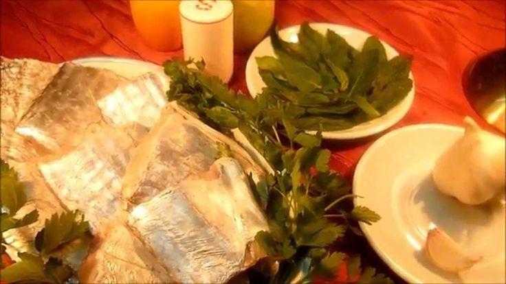 Как готовить рыбу-шпагу хвостатую Come preparare pesce bandiera alla sca... ИТАЛЬЯНСКАЯ КУХНЯ Очень вкусно. Смотри!
