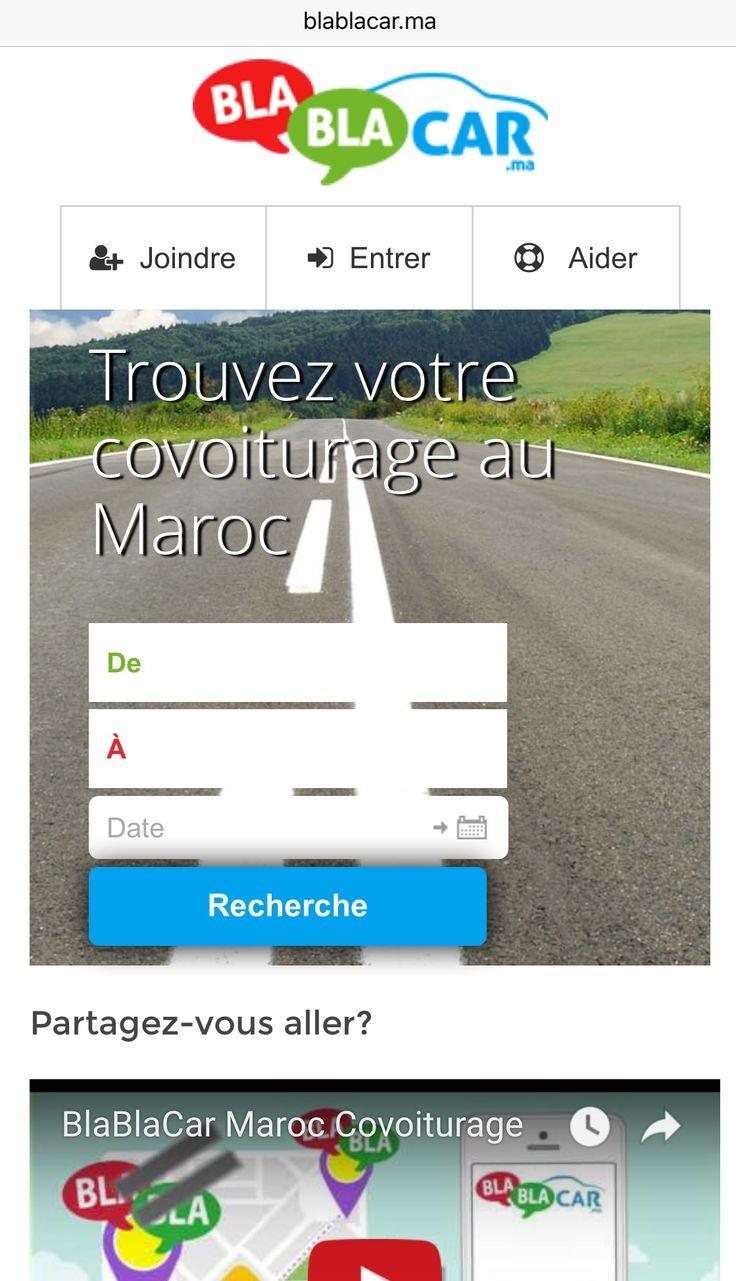 BlaBlaCar Maroc Covoiturage www.blablacar.ma  #covoiturage #maroc  #covoituragemarocain  #blablacar_ma #blablacarmaroc