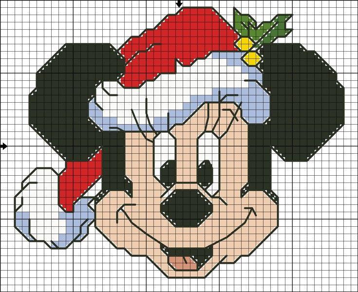 Kanaviçe Mickey Mouse Örnekleri (29)