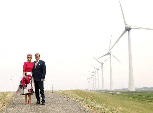 29-6-2017 King Willem-Alexander & Queen Maxima visited Flevoland region