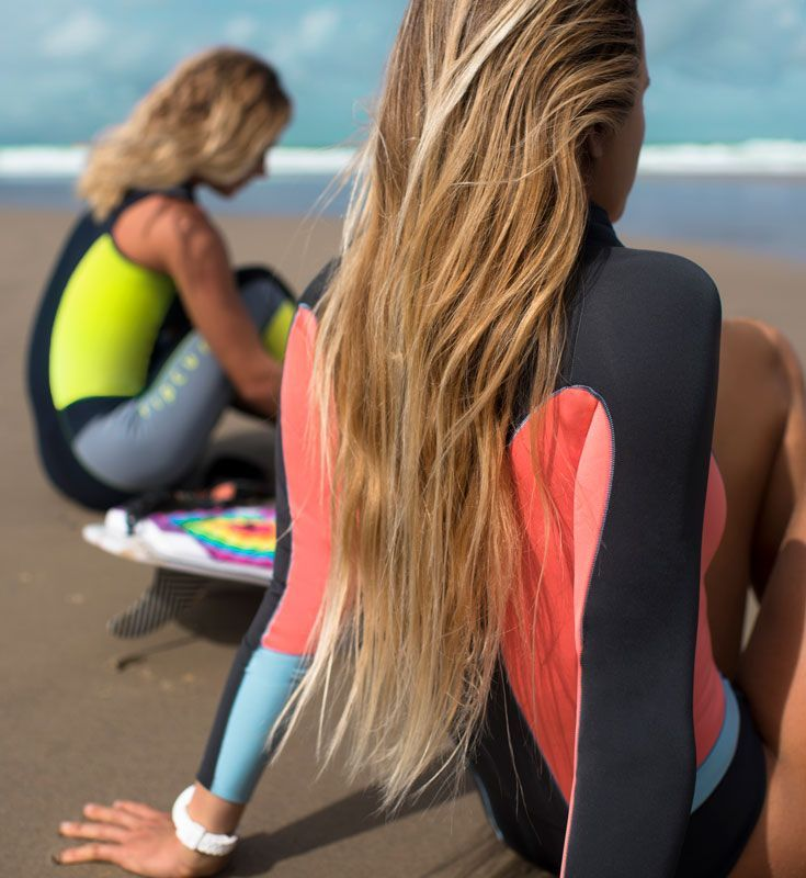 Bombshells. Both the Wetsuits and the Girls.