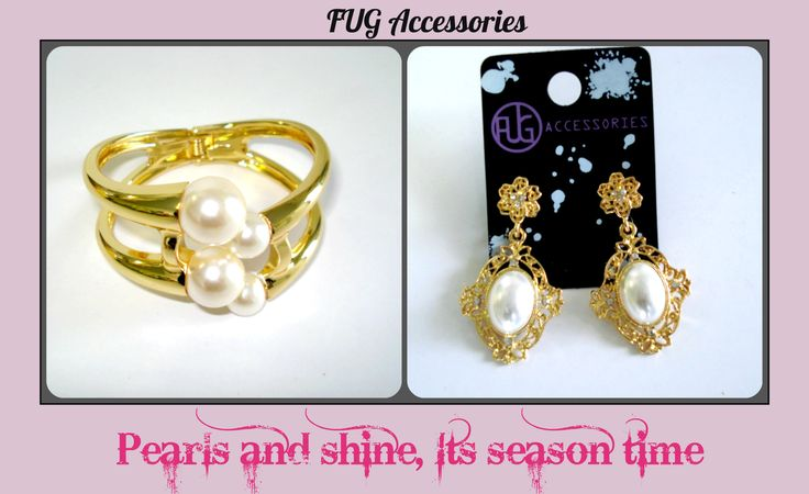 Well.... you know how we feel about pearls #FUGstyle We just cant get enough <3