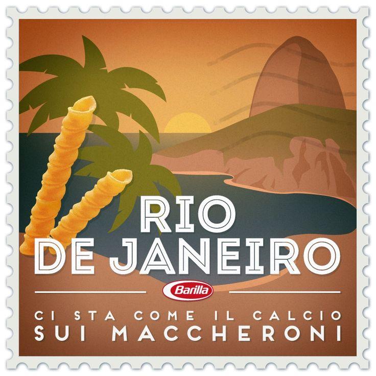 #RiodeJaneiro Ci sta come il calcio sui Maccheroni