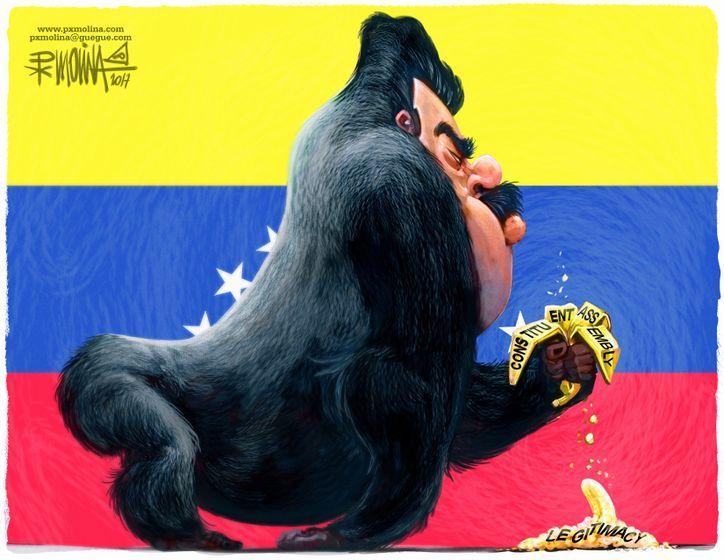 Maduro and his farse...