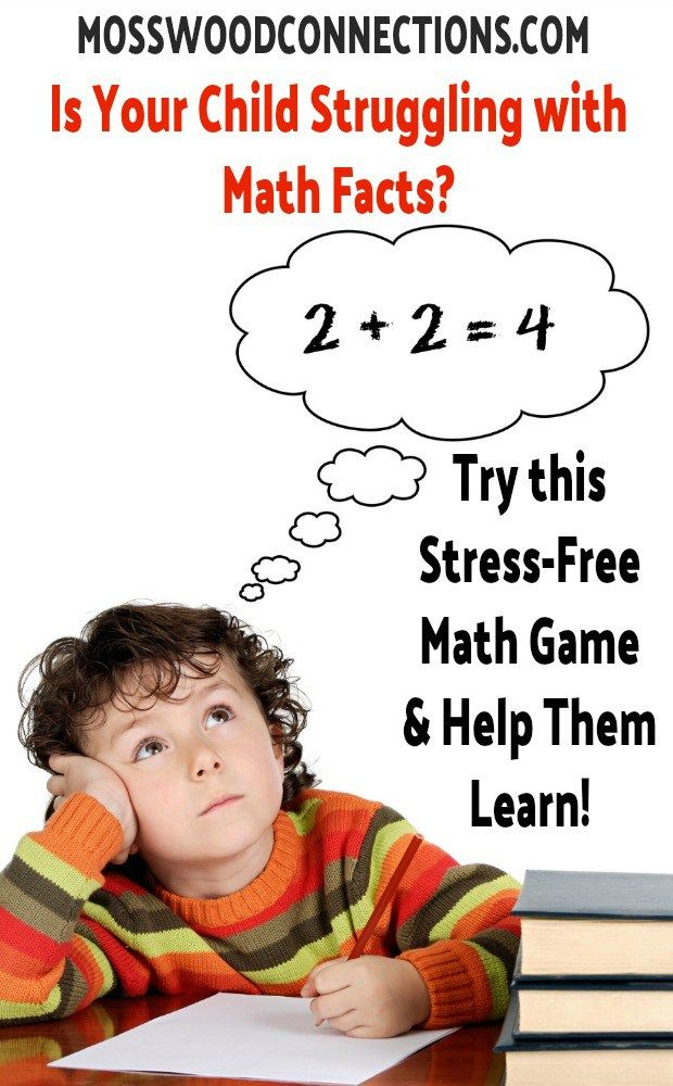 Get It, Got It, Good! A Stress-Free Way to Learn Math Facts