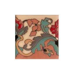 Handpainted Ceramic Tile Border Collection. Mediterranean Style ... Fliesen Bordre Modern