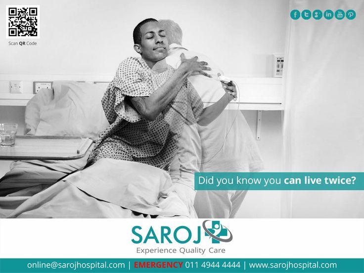 Live twice with Kidney Transplant. Visit: www.sarojhospital.com/kidney-transplant  #Health #Healthcare #Wellness #Medical #KidneyTransplant #Doctors #Delhi