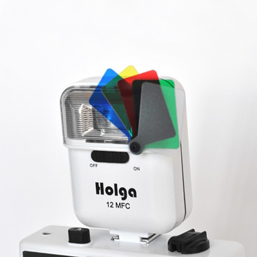Holga 12 MFC Colour Flash (White)
