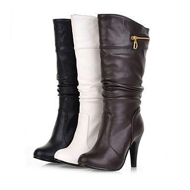 Miroir Bas - Chaussures Pour Femmes / Botte Noire De Lune JoxYNdZJg