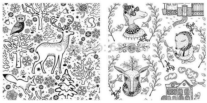 1284 best Christmas coloring pages images on Pinterest | Coloring ...