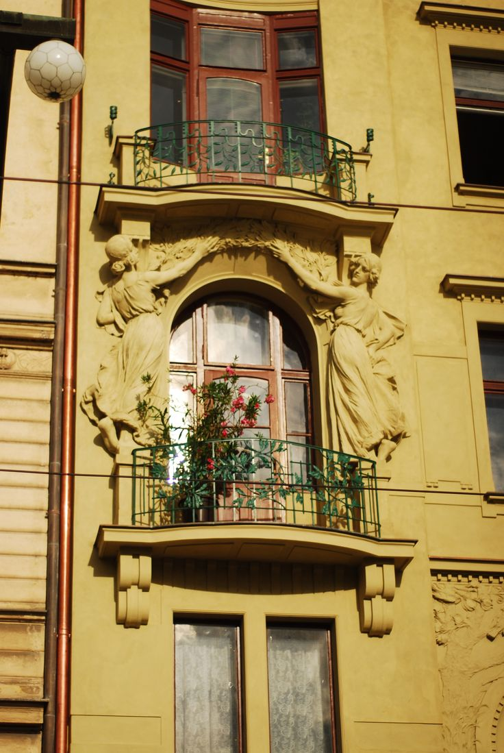 An exciting window, Prague   by Deniz Yetimoğlu