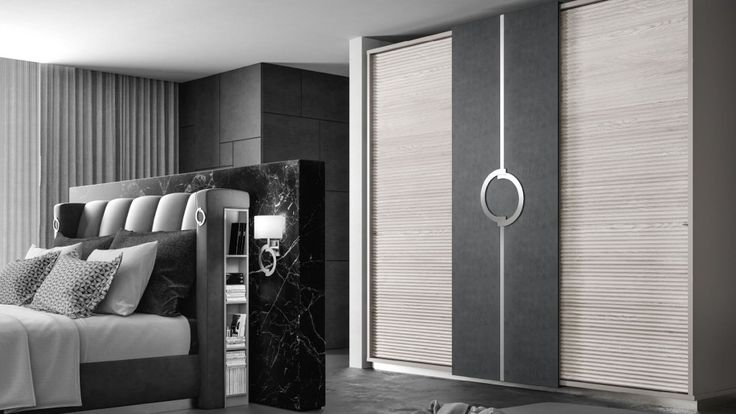 #ImCozyHere because the Skyline combination release in your bedroom all shades of black and white and also leave your space full of elegance, modern and cosmopolitan style! #distinctivehome #madeinitaly #handmade